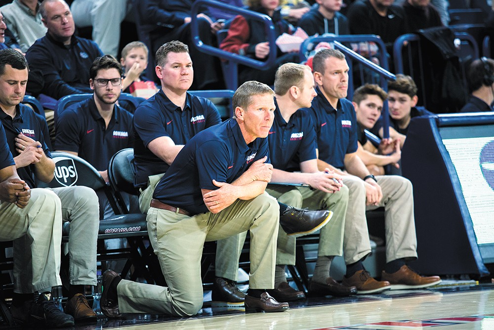 Gonzaga coach Mark Few is reloading his roster once again. - LIBBY KAMROWSKI