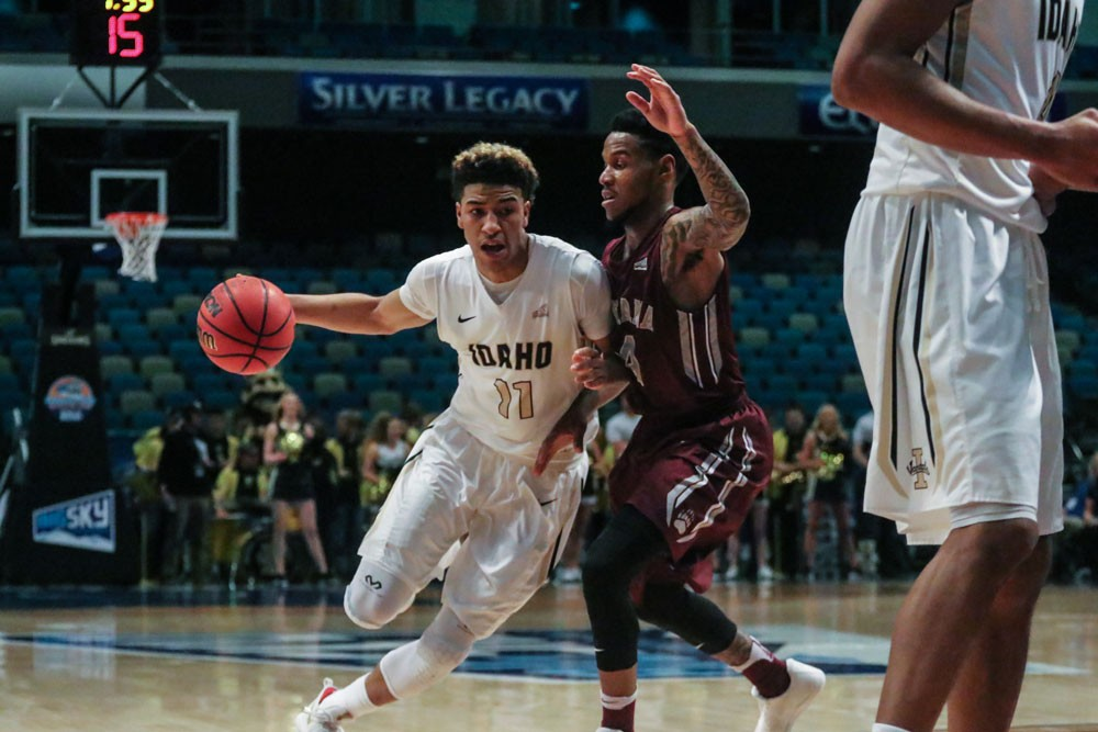 Idaho's Victor Sanders will lead a team picked to win the Big Sky Conference this season. - SPENCER FARRIN