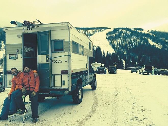 It's okay to park your RV on the top of a mountain — just not on the streets within the city limits. - ANGELA PONTAROLO PHOTO