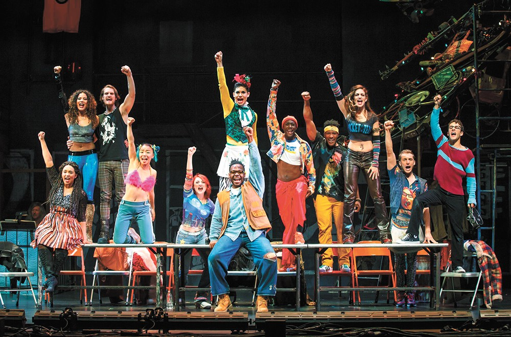 """Rent is still a story about [people] who are struggling with their place in the world,"" says Skyler Volpe, who plays Mimi Márquez in the nationally touring production. - CAROL ROSEGG"
