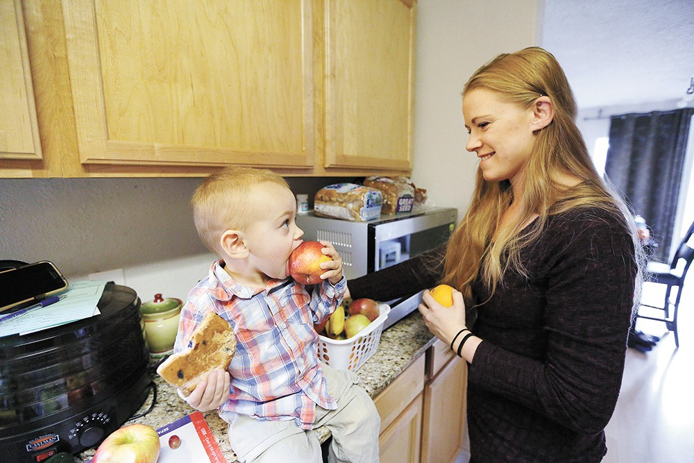 Brandaleen Harper and her son, Gabriel, are grateful for a new program called Complete Eats. - YOUNG KWAK
