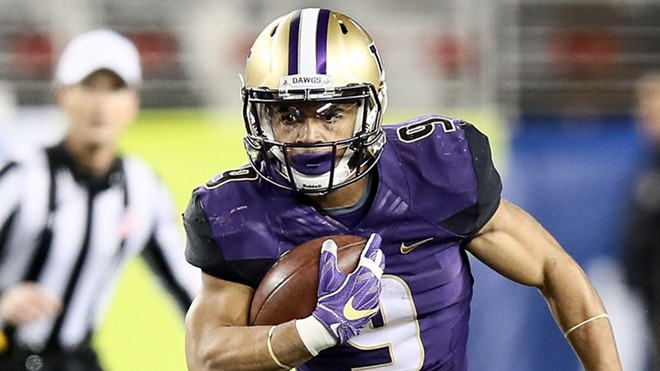Containing UW junior running back Myles Gaskin — who has carried the ball 48 times for 178 yards and three TDs and caught five passes for 40 more yards in the past two Apple Cups — has to be a priority for the Cougars' defense. - UW ATHLETICS