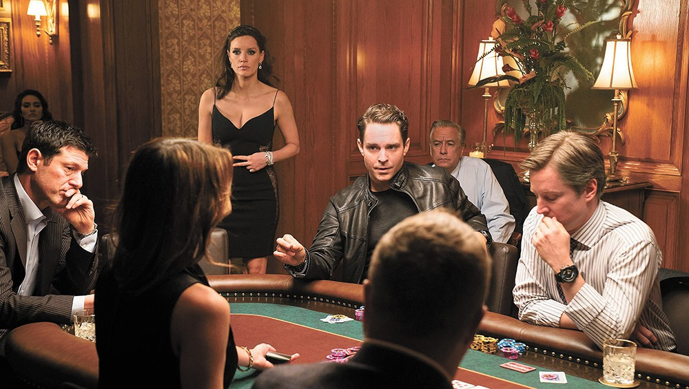 Go big or go home: Jessica Chastain is as good as she's ever been in Molly's Game, the latest from Aaron Sorkin.