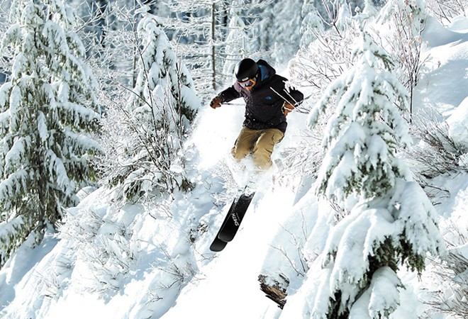 Shred on the cheap on Friday. - COURTESY SILVER MOUNTAIN RESORT
