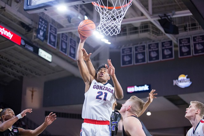 Rui Hachimura is growing by leaps and bounds in his second season. - LIBBY KAMROWSKI