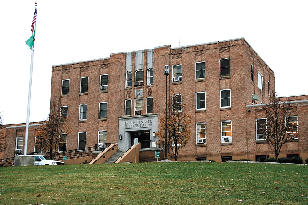 Eastern State Hospital, in Medical Lake, is one of two state psychiatric hospitals. - CHRIS BOVEY