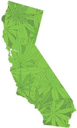 California was the first state to legalize medical marijuana largely due to the activism by Dennis Peron.