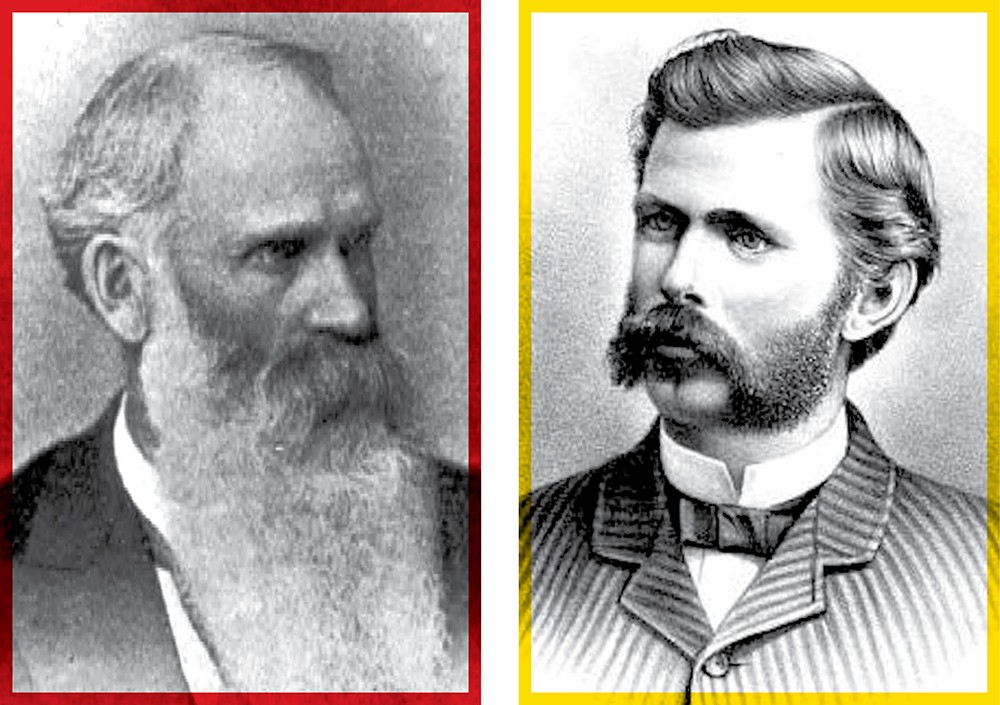 Anthony Cannon (left) and Francis Cook have differing views on their spat.