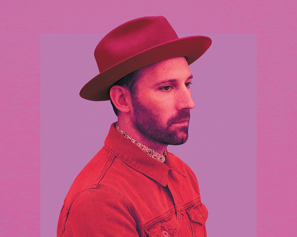 Mat Kearney performs in Spokane on Monday.