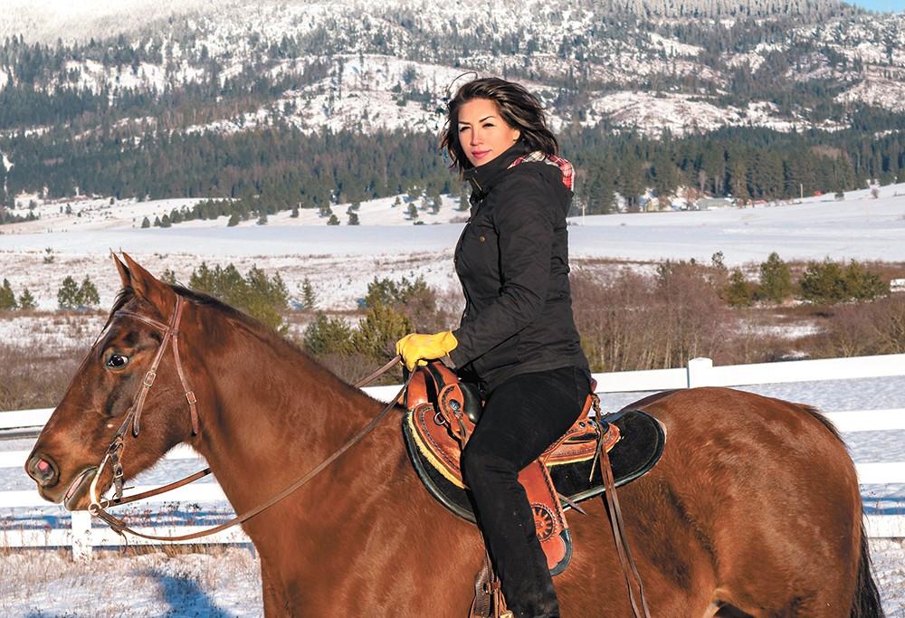 Paulette Jordan is running for governor in Idaho.