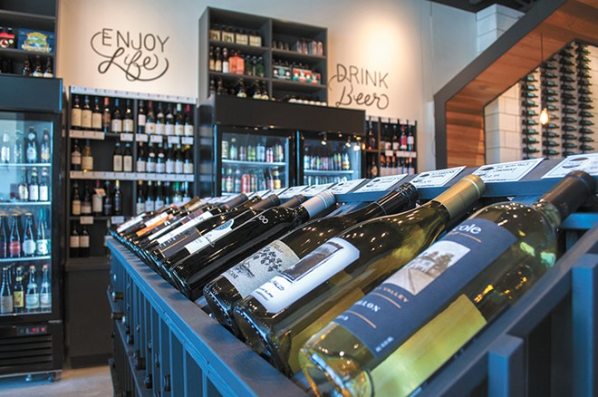 Nectar in Kendall Yards has a great selection of both beer and wine.