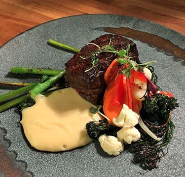 The award-winning Black Grade Zabuton Steak is one of the entrées featured at Spencer's for Restaurant Week. - SPENCER'S FOR STEAKS AND CHOPS SPOKANE / @SPENCERS_SPOKANE