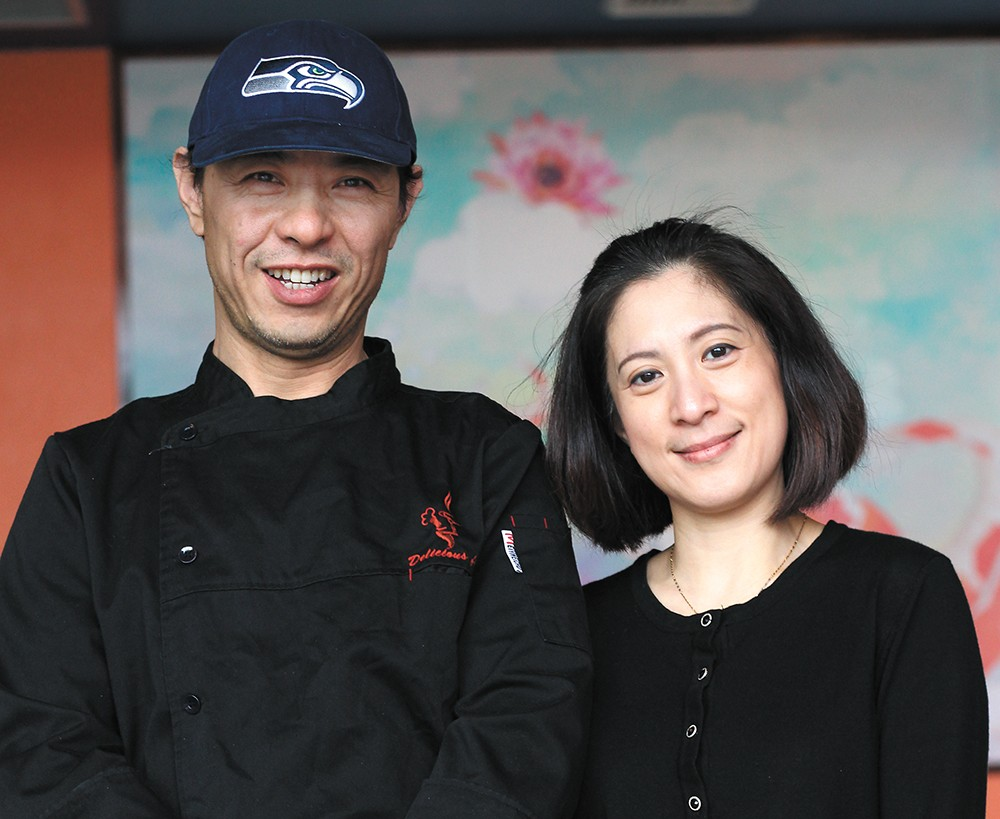 JJ and Monica Lu opened Chef Lu's Asian Bistro in late 2017. - QUINN WELSCH