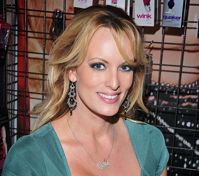Stephanie Clifford, known professionally as Stormy Daniels - GLENN FRANCIS
