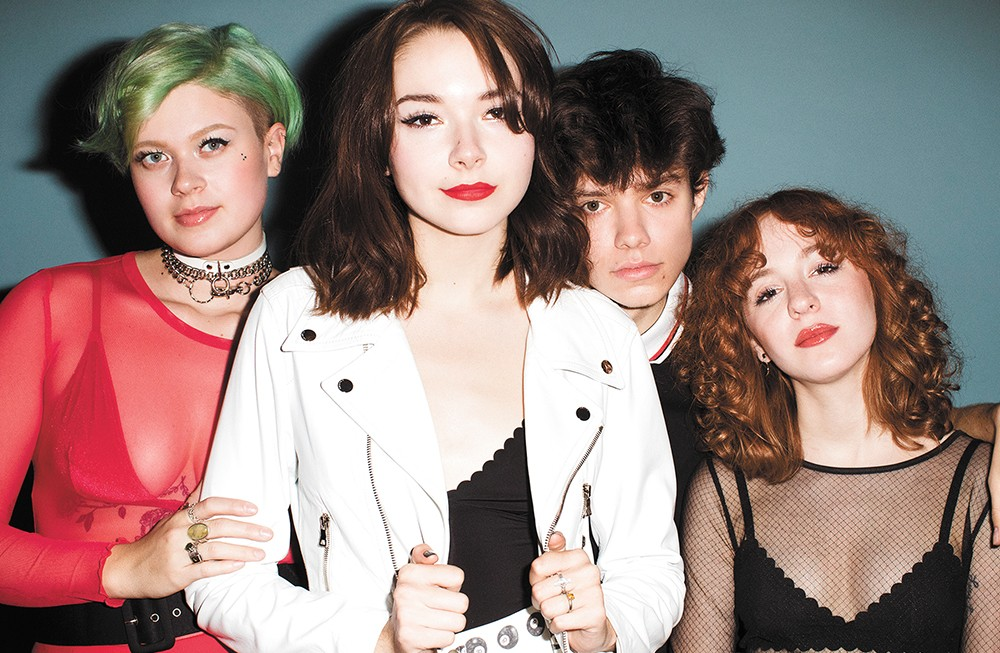 The Regrettes bring their fierce, empowering rock to the Bartlett next week. - KENNETH CAPPELLO PHOTO