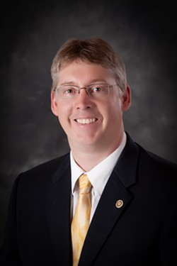 Darren Pitcher, former SFCC acting president - COURTESY OF SFCC