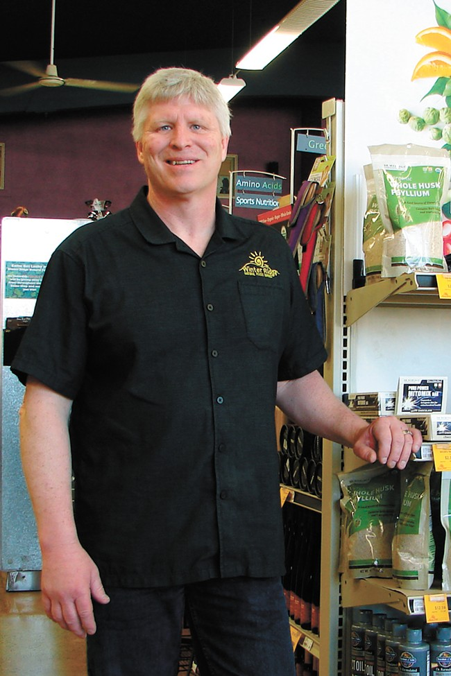 Gregg Plummer of Winter Ridge Natural Foods | Carrie Scozzaro Photo - CARRIE SCOZZARO