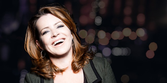 Kathleen Madigan headlines the Bing on Saturday, doing her excellent standup comedy.
