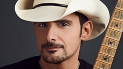 Brad Paisley headlines July 27.