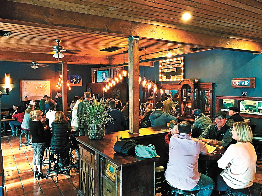 Radio Brewing opened in Kellogg last spring, and offers a rustic-meets-vintage vibe, with craft beers named after old-time radio programs.
