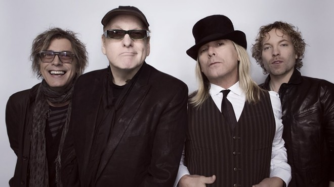 Rock and Roll Hall of Famers Cheap Trick play with Joan Jett in September.