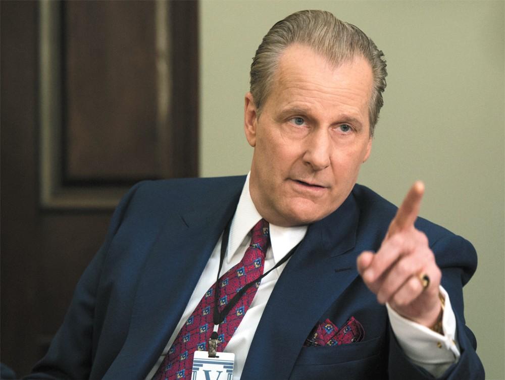 Jeff Daniels as FBI agent John O'Niell.