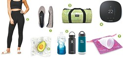 """Click the link on """"how to reduce your impacts"""" above to learn more about these products meant to be a little friendlier to the planet."""