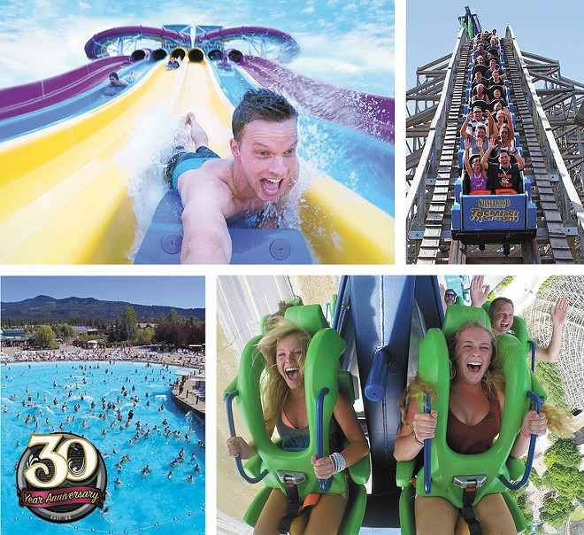 Opening day at Silverwood Theme Park is set for May 5th