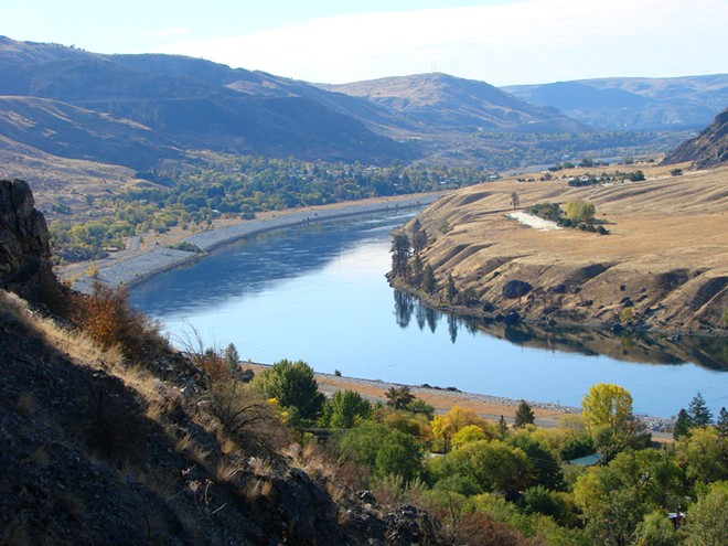 Okanogan River - ADAM JONES