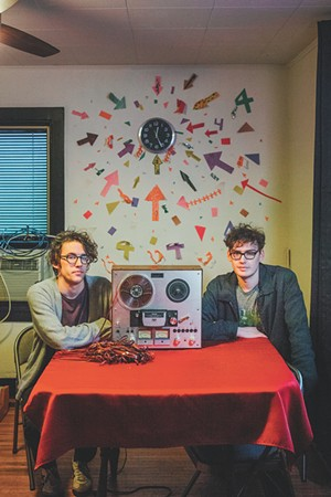 Local duo Runaway Octopus revels in the retro with surf-rock sounds and the warmth of analog