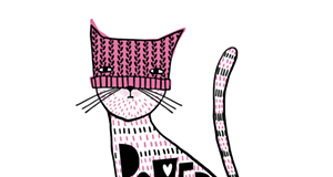 "Pullman artist's ""cat power"" design raises thousands for national, local nonprofits"