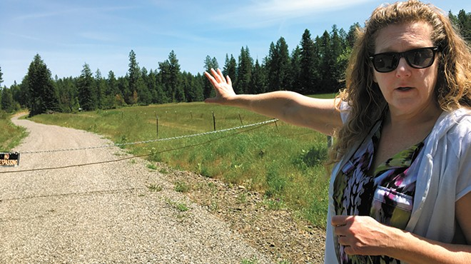 A family told Kootenai County that plans to cut a road through their property were wrong; they were ignored until it was too late