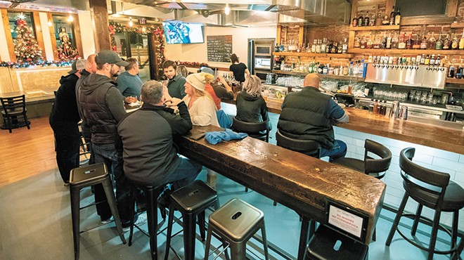 North Hill on Garland offers a comfortable vibe and creative takes on bar food staples