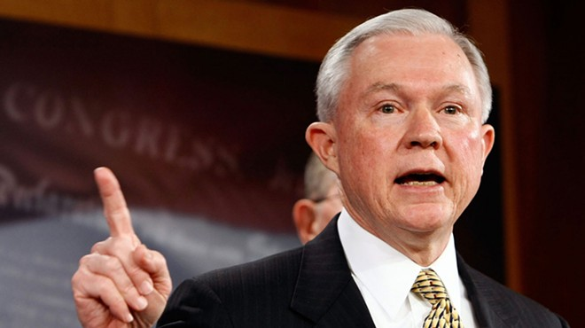 'No' to Sessions