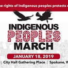 Indigenous Peoples March Spokane