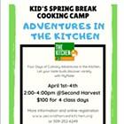 Kid's Spring Break Cooking Camp