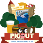 Pig Out in the Park feat. Too Slim & the Taildraggers, Hey! is for Horses, The Dodgy Mountain Men, the Backups, Angela Marie Project and more