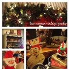 Two Women Vintage Goods Country Christmas Sale