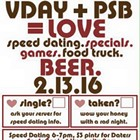 Valentine's Day Party & Speed Dating