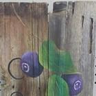 Paint Huckleberries on Barn Wood