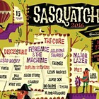 Sasquatch! music festival feat. Major Lazer, M83, Digable Planets, M. Ward, Ty Segall & the Muggers, Hop Along
