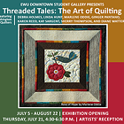 Threaded Tales: The Art of Quilting