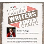 EWU Visiting Writer Series: Heather McHugh