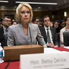 DeVos Says Education Dept. Will Revisit Obama-Era Campus Sexual Assault Policies