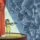 From tests to sports  to music recitals, competitive activities can wreak havoc on a kid's confidence