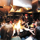 Guests at North Spokane's Kobe Hibachi, Sushi and Bar can watch their meal cooked in front of them