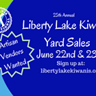 Kiwanis Liberty Lake Yard Sales