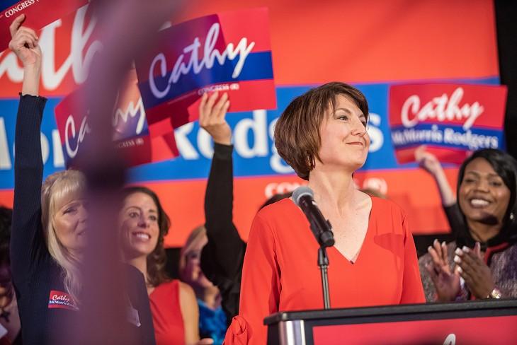 Election night in Spokane, Nov. 6, 2018