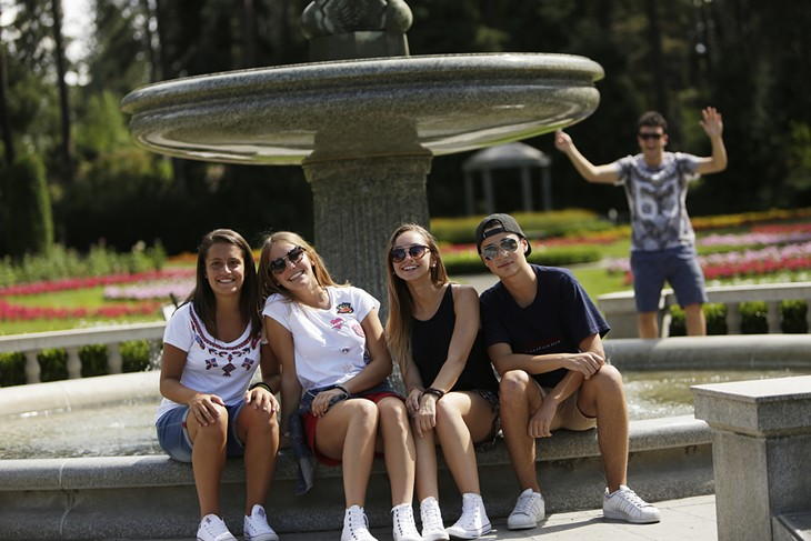 Students from Spokane's new Sister City Cagli Visit Spokane