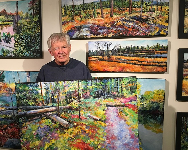 LR Montgomery, NW Artist - With Original Oil Paintings Of The NW Places We Love